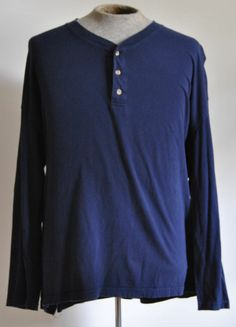 Men's State O Maine N Blue Sleeper Shirt 100% Cotton Size XX-Large Long Sleeve #StateOMaine #Nightshirt