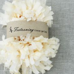 Wholesale 8 Yard Roll Of Ivory Garland Fringe Trim