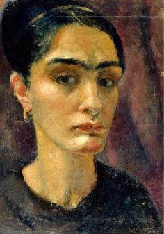 Anita Ree (German artist, 1885-1933) Self Portrait
