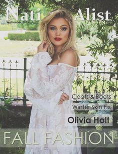 Olivia Holt Graces The Cover Of Nation-Alist Magazine's September 2015 Issue - Dis411