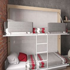 Fancy Twin Murphy Bed
