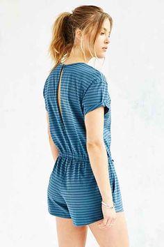 BDG Melinda Knit Drawstring Romper - Urban Outfitters ($49)