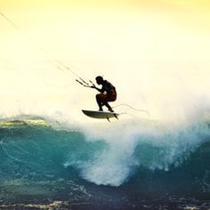 Not a place, but something I'd like to try: kitesurfing!