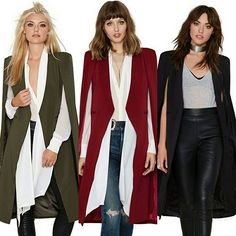 Blazer poncho coat. Available in 3 colours. By order only. Available @ R550. XS-XXL. Watsapp or email to order. Use the contact button above. 💘