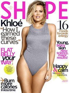 Khloe Kardashian can't believe she's on the cover of Shape magazine — read her tweets