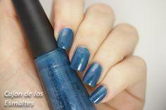 esmalte Avon Colortrend Azul. Cajón de los Esmaltes.