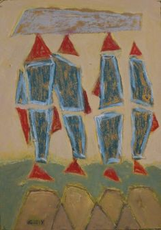 """Suspended fishes"" #фотобумага, #пастель, #акрил  Розміри: 30x21  #Живопис 2015 Опис:#photo #paper, #pastel, #acrylic"