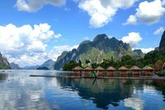 Cheown Lan lake in Khao sok national park. Our favorite place in Thailand, so peaceful!