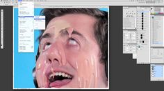"""Gibson """"Melting Face"""" Photoshop Tutorial -- From AMC's """"The Pitch"""" Season 2"""