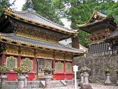Japan- Tosho-gu Shrine. Nikko