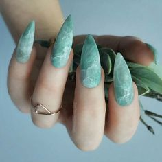 – Designer nails can really make you look fashionable and chic. Nail art is one … – Designer nails can really make you look fashionable and chic. Nail art is one way to make your nails look really good and it lets you experiment with … Marble Nail Designs, Marble Nail Art, Cute Nail Designs, Green Nail Designs, Stone Nail Art, Popular Nail Designs, Gold Nail Art, Awesome Designs, Cute Acrylic Nails