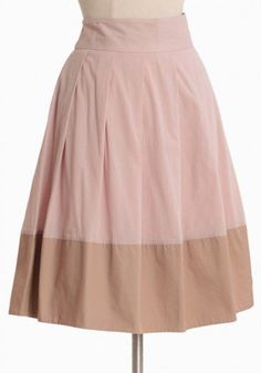 #Ruche                    #Skirt                    #serenity #colorblocked #skirt #rose                serenity colorblocked skirt in rose                                           http://www.seapai.com/product.aspx?PID=491886
