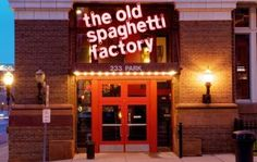 A place I always wanted to visit as a kid, when I lived in Denver, Colorado. The old spaghetti factory. :)