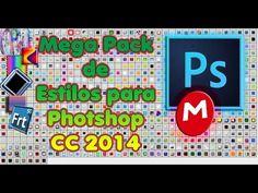 Mega pack de estilos para photoshop cc   [ 2015 en Mega]