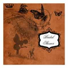 Fairy Garden Wedding Bridal Shower Invitation Dealstoday easy to Shops & Purchase Online - transferred directly secure and trusted checkout...