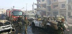 قتلى وجرحى في تفجير انتحاري بمدينة اللاذقية