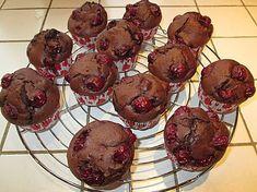 Schoko - Kirsch - Muffins (Rezept mit Bild) von anuschi | Chefkoch.de