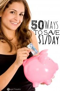 50 Ways to Save $1 a Day