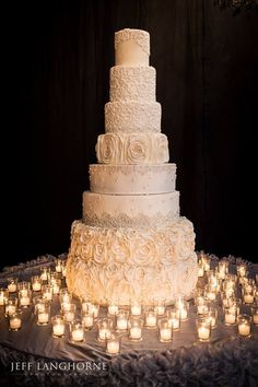 Chic Daily Wedding Cake Ideas (New!). To see more: http://www.modwedding.com/2014/07/09/chic-wedding-cake-ideas/ #wedding #weddings #wedding_cake Featured Wedding Cake: Cookie Couture; Featured Photographer: Jeff Langhorne Photography