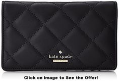 kate spade new york Emerson Place Adalita Bifold, Black, One Size