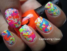 Captivating Claws: Splatterday!!!