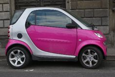 Smart Car's always make me smile. I must test drive one someday