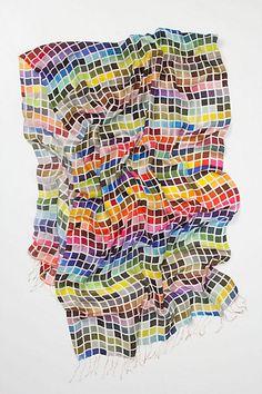 Tolani Tiles scarf