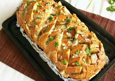 Stuffed cheesy bread!!