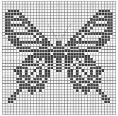Cómo tejer Crochet Filet # 1 / Curso Gratis de Crochet Online ~ Patrones para Crochet