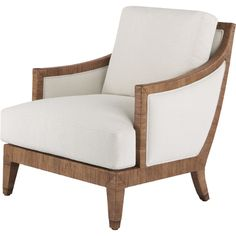 McGuire armchair with fully upholstered sides and back (same with Wellington chair).