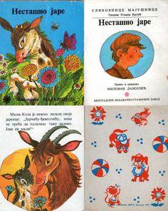 Nestasno jare, Slikovnice majusnice, BIGZ, 1975. / Vintage children book from Yugoslavia