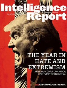The number of hate groups in the United States rose for a second year in a row in 2016 as the radical right was energized by the candidacy of Donald Trump, according to the Southern Poverty Law Center's (SPLC) annual census of hate groups and other extremist organizations, released today.