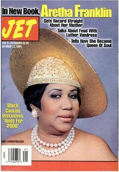 Aretha Franklin On Magazine Covers | The Jet piece tells Aretha's version of her life as does the Diva's ...