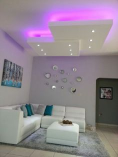 20 weighted white living room decoration The living rooms or halls are end . Simple False Ceiling Design, Gypsum Ceiling Design, House Ceiling Design, Ceiling Design Living Room, Bedroom False Ceiling Design, False Ceiling Living Room, Living Room Designs, Living Room Decor, False Ceiling Ideas