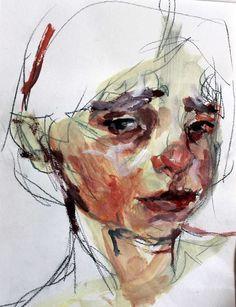 Elly Smallwood (Canadian) - Untitled (Girl)
