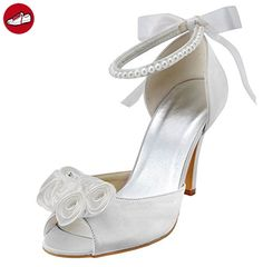 Kevin Fashion ,  Damen Modische Hochzeitsschuhe , weiß - weiß - Größe: 41 - Damen pumps (*Partner-Link)