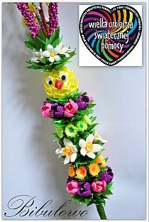 Wielkanocne dekoracje na Stylowi.pl Kanzashi Flowers, Paper Flowers, Easter Holidays, Flower Making, Quilling, Easter Eggs, Origami, Diy And Crafts, Projects To Try
