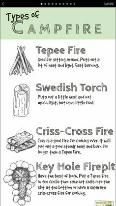 1b1e31897f8 Planning a campfire  Here are a few types of campfire you can build