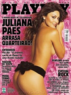Playboy Brazil May 2004 Cover featured by Juliana Paes