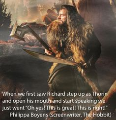 Being right about Richard being Thorin