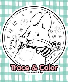 Trace and color with Max! #NickJr