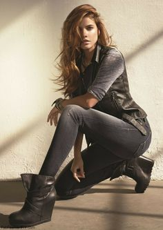Barbara Palvin for Mavi Jeans campaign