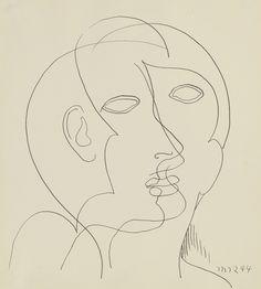 Man Ray, Interfacial, 1944, Waterhouse & Dodd