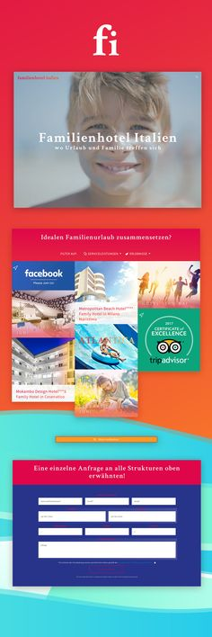 Familienhotel Italien - Web Site