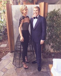 Since @toddchrisley and I will be headed to LA next week to be involved in some #oscar festivities I only found it appropriate to post a pic of last years amazing caged look!! Styling - @danielmusto ❤