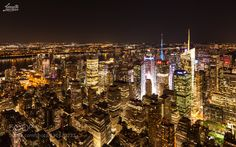New York CIty Timessquare at Night by mbergner. @go4fotos