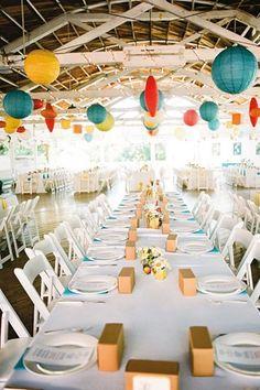 Fun Fair Wedding