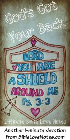 1-Minute Bible Love Notes: God's Got Your Back!