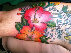 modèle tatouage Polynesien fleur - #359035