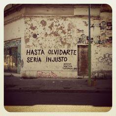Poética callejera. @Accion poetica tucuman